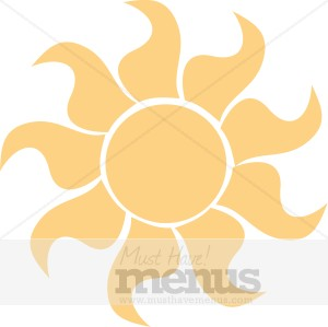 Sun Clipart | Holiday Clipart Archive