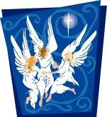 Dancing Angels Clipart