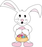 Kids Easter Bunny Clipart
