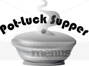 Pot Luck Clipart