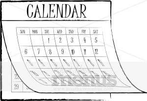 restaurant calendar clipart calendar menu graphics