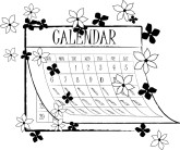 Spring Events Clipart