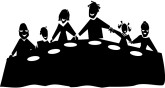 Family Dinner Clipart