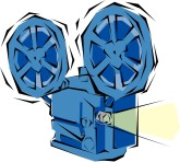 Movie Projector Clipart