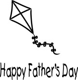 Happy Father's Day with Kite