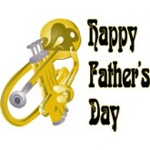 Trombone Happy Father's Day