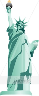 Statue of Liberty Clipart | Holiday Clipart Archive