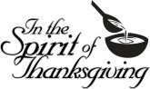 Spirit of Thanksgiving