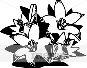 Easter Lilies Clipart Holiday Clipart Archive