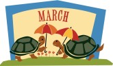 March Calendar Clipart
