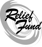 Relief Fund with Hurricane Symbol