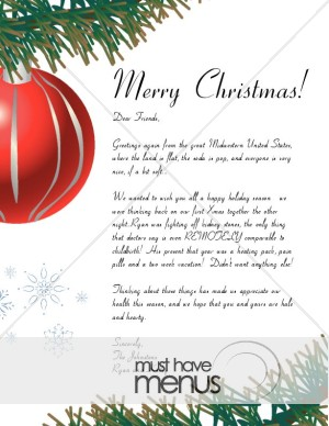 Letter writing services xmas