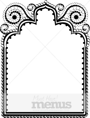 Ornate Middle Eastern Frame