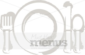 Place Setting Clipart | Cooking Images