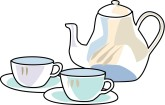 English Tea Clipart