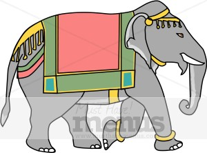 indian elephant clipart indian food clipart rh musthavemenus com Indian Elephant Drawing indian elephant face clipart