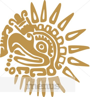 Clip Art Aztec Clipart aztec clip art and menu graphics musthavemenus 21 found mexican eagle clipart