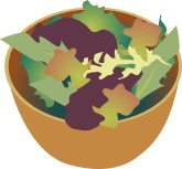 Salad Greens Clipart