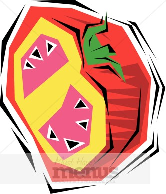 Red Tomato Clipart