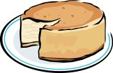 New York Cheesecake Clipart