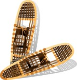 Snow Shoes Clipart