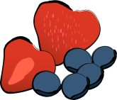Summer Berries Clipart