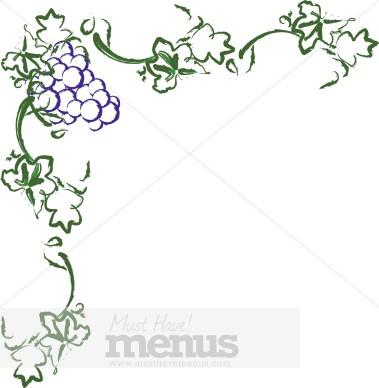free clip art borders wine - photo #11