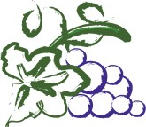 Purple Grapes Clipart