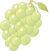 Bunch Grapes Clipart