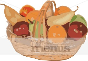 Fresh Fruits Clipart