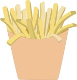 Fries Clipart