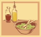 Dinner Salad Clipart
