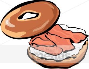 lox bagel clipart breakfast clipart rh musthavemenus com Bagel Deli Clip Art Bagel Sandwich Ideas