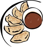 Pot Stickers Clipart