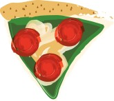 Slice of Pizza Clipart