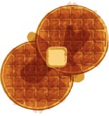 Hot Waffles Clipart
