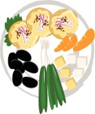 Appetizer Tray Clipart