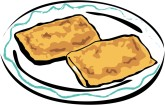 Breakfast Burrito Clipart