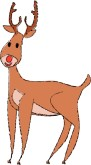 Cartoon Rudolph Clipart