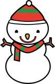 Cartoon Snowman Clipart