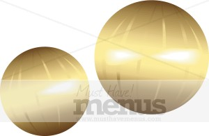 Gold Ornament Clipart