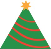 Simple Xmas Tree Clipart