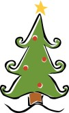Christmas Menu Accent Clipart