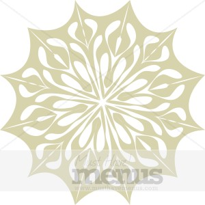 Snowflake Ornament Clipart