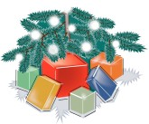 Xmas Presents Clipart