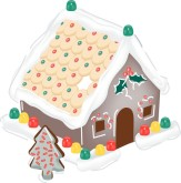 Gingerbread House Clip Art