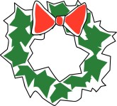Wreath Menu Accent Clipart