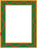 Xmas Colors Menu Frame