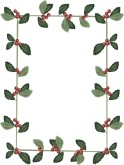 Repeating Holly Motif