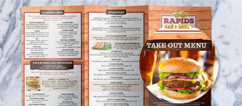 Restaurant Menu Design Tips   Photos